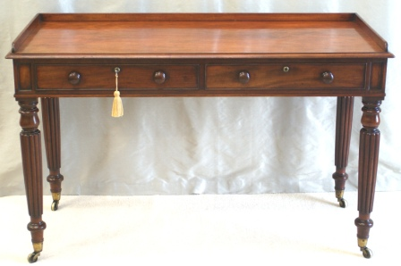 Antique Writing Table - Gillows Style - Antiquedesks.net