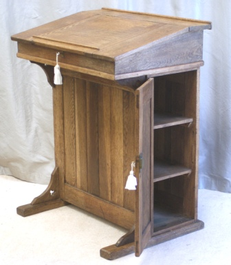Antique Writing Desks Oak Clerks Desk Lectern