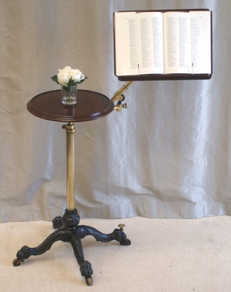 Antique Leveson Reading Table.  Sourced and Sold by Antiquedesks.net