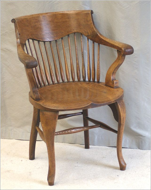 Awe Inspiring 9055 9058 Antique Oak Desk Chairs By Shoolbred London Dailytribune Chair Design For Home Dailytribuneorg