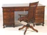 Famous Antique Desk Makers - Examples Sold by Antiquedesks.net