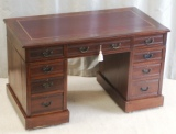 Click for full details - Small Pedestal Desk for Restoration