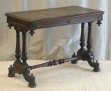 Click for full details - Rare Writing Table by Charles Hindley - for restoration