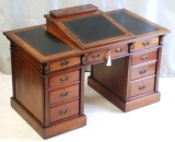 Antique Walnut Dickens Writing Desk by Bulstrode Cambridge