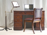 Examples: Antique Reading Tables, Desk Chairs and Bookcases