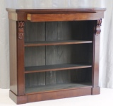 Antique Desk Accessories -  Antique Mahogany Bookcase with Drawer