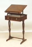 Antique Desk Accessories -  Antique Regency Mahogany Reading Stand