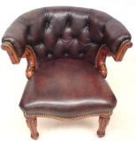 Antique library desk chair