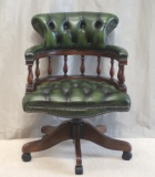 CLICK HERE TO SEE - NEW LEATHER DESK CHAIRS & LIBRARY CHAIRS