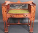 Antique oak Shapland and Petter Desk